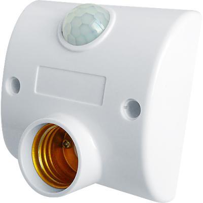 Motion Sensor Activated Light Socket Adapter